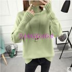 Womens Pullover Choker Simple Autum Outdoor Inside Warm Hot Sale Sweater Fashion