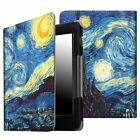 For Kindle Voyage E-Reader 2014 Smart Leather Folio Case Cover Auto Sleep / Wake