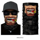 Clown Cycling Motorcycle Neck Tube Ski Scarf Face Mask Balaclava For Halloween..