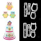Fondant Cake Decorating Plunger Chocolate Cookies Cutter Kitchen Tool Paste Mold