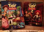 TOY SYORY 1 & 2 Large Hardcover Children's Books with Jackets Disney Pixar Kohls