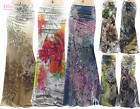 Floral Paisley Boho Sublimation high waist maxi long skirt (S/M/L/XL1XL/2XL/3XL)