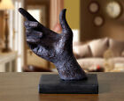 Creative Wall Decoration Resin Bionic Hanging Gesture Hand Classic Pose Statue