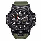 Men's Military Analog Digital LED Alarm Army Shock Sport Waterproof Wrist Watch