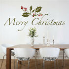 Christmas Quote Decal Christmas Window Stickers Christmas Decorations, h49