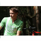 SPAKCT Summer Cycling Short Sleeves Quick Dry Breathable Anti-Sweat Green