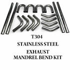 STAINLESS STEEL EXHAUST DIY SELF BUILD MANDREL BEND TUBING KIT 45 90 180 DEG