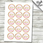 "16TH SWEET BIRTHDAY 1.5"" & 2"" EDIBLE CUPCAKE TOPPERS - BIRTHDAY"