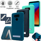 Hybrid Shockproof Ultra Thin Case Kickstand Tough Armor Cover For LG G6 Plus Pro