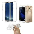 Cover DOUBLE SILICONE SAMSUNG GALAXY J3 2017. TRANSPARENT GEL TPU