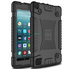 Shockproof Slim Soft Armor Case Back Cover for Amazon Kindle Fire 7 2017 7th Gen