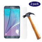 2-Pack 9H Premium Real Tempered Glass Screen Protector for SAMSUNG Galaxy Note 5