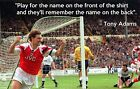 Tony Adams Arsenal Fridge Magnet With Quote - Available in Two Sizes
