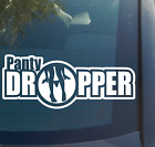 Panty Dropper Vinyl Decal Sticker lowered car SUV truck graphic joking funny
