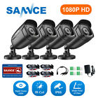 SANNCE HD-TVI 1500TVL 720P IR night vision Indoor Outdoor security Camera system