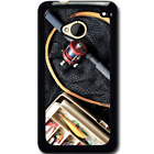For HTC M7 Case Phone Cover Fishing Rod Tackle Y01269