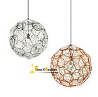 Copper Gold / Silver Web Pendant Lamp Chandelier Ceiling Light Fixtures Lighting