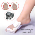 2 Pcs Day Night Bunion Splint Big Toe Foot Corrector Hallux Valgus Straightener