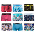 9 pcs men's underpants shorts soft underwear bulge pouch boxers briefs