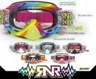 Rip n Roll Hybrid Crossbrille Brille mit Roll Off  Motocross große Farbauswahl