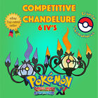 Pokémon ORAS / XY – COMPETITIVE CHANDELURE 6IV's Shiny / No Shiny