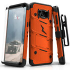 Galaxy Note 8 / S8 / S8 Plus Case, Zizo Bolt w/ Screen Protector and Holster фото