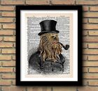 CHEWBACCA STAR WARS CHARACTER PRINT Gift Present Fathers Day Birthday Husband £4.5 GBP