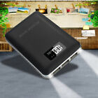 DCAE 10000mAh 3USB LCD Power Bank External 2LED Battery Charger For Mobile Phone
