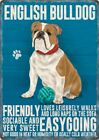 ENGLISH BULLDOG ANIMAL METAL SIGN PLAQUE PICTURE PRINT OTHER BREEDS LISTED 1296