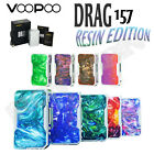AUTHENTIC VOOPOO DRAG BOX X007 | 157W TC Mod | 32-Bit Chip | Silver-Frame Resin $61.95 USD