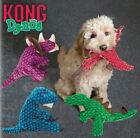 Kong Dynos - Dog Puppy Soft Plush Toy - Crinkle Squeaky - 4 Styles To Pick From!