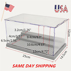 3 Steps Clear Acrylic Plastic Display Box Case Dustproof Tray Protection US Ship