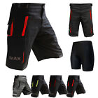 MTB Cycling Shorts Off Road cycle With CoolMax Padded Inner Shorts Multi Pockets
