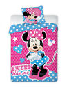 Kinderbettwäsche 100x135 Bettgarnitur Disney Frozen Mickey Minnie Cars Winnie