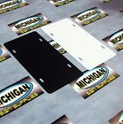 25 Pack of Plastic License Plate Blanks.050 **Create your own Designs!!!**