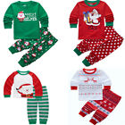 Children Clothing Set Christmas Baby Kids Pajamas Set Boys Girls Sleepwear 2-8Y