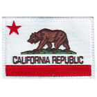 CALIFORNIA FLAG EMBROIDERED PATCH