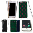 Shockproof 360° Silicone Clear case cover for many mobiles - design ref zx2184