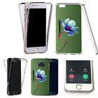 Shockproof 360° Silicone Clear case cover for many mobiles - design ref zx1199