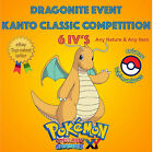 Pokémon ORAS – DRAGONITE EVENT KANTO CLASSIC COMPETITION 6IV's - ANY NATURE
