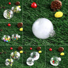 Christmas Tree Ball Party Clear Transparent Hainging Decoration Decor Kids