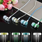 3.5mm Wired Headset In-Ear Stereo Earbud Headphone Earphone For iPhone Android