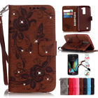 Flip Leather Case For LG K7 Tribute 5 Wallet Stand Phone Cases Butterfly Pattern