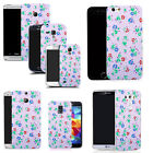 hard back case cover for many mobiles - floral bunch