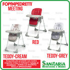 SEGGIOLONE PAPPA CHIUDIBILE MEETING FOPPAPEDRETTI - RED, TEDDY CREAM, TEDDY GREY
