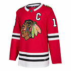 Jonathan Toews Chicago Blackhawks Adidas NHL Men's Authentic Red Hockey Jersey $139.95 USD on eBay
