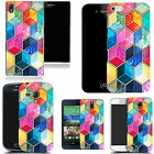 hard durable case cover for iphone & other mobile phones - mozaic hexagon