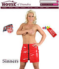 Sexy PVC Zipster Skirt  Black / Red / Pink (S1403)