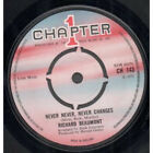 """RICHARD BEAUMONT Never Never Never Changes 7"""" VINYL UK Chapter 1 1971 B/W Give"""