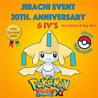 Pokémon ORAS / XY – JIRACHI EVENT POKÉMON 20th ANNIVERSARY 6IV's – ANY NATURE